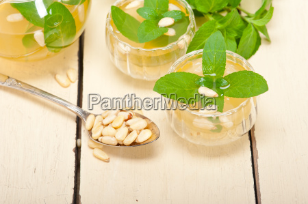 arab, traditional, mint, and, pine, nuts - 14056173