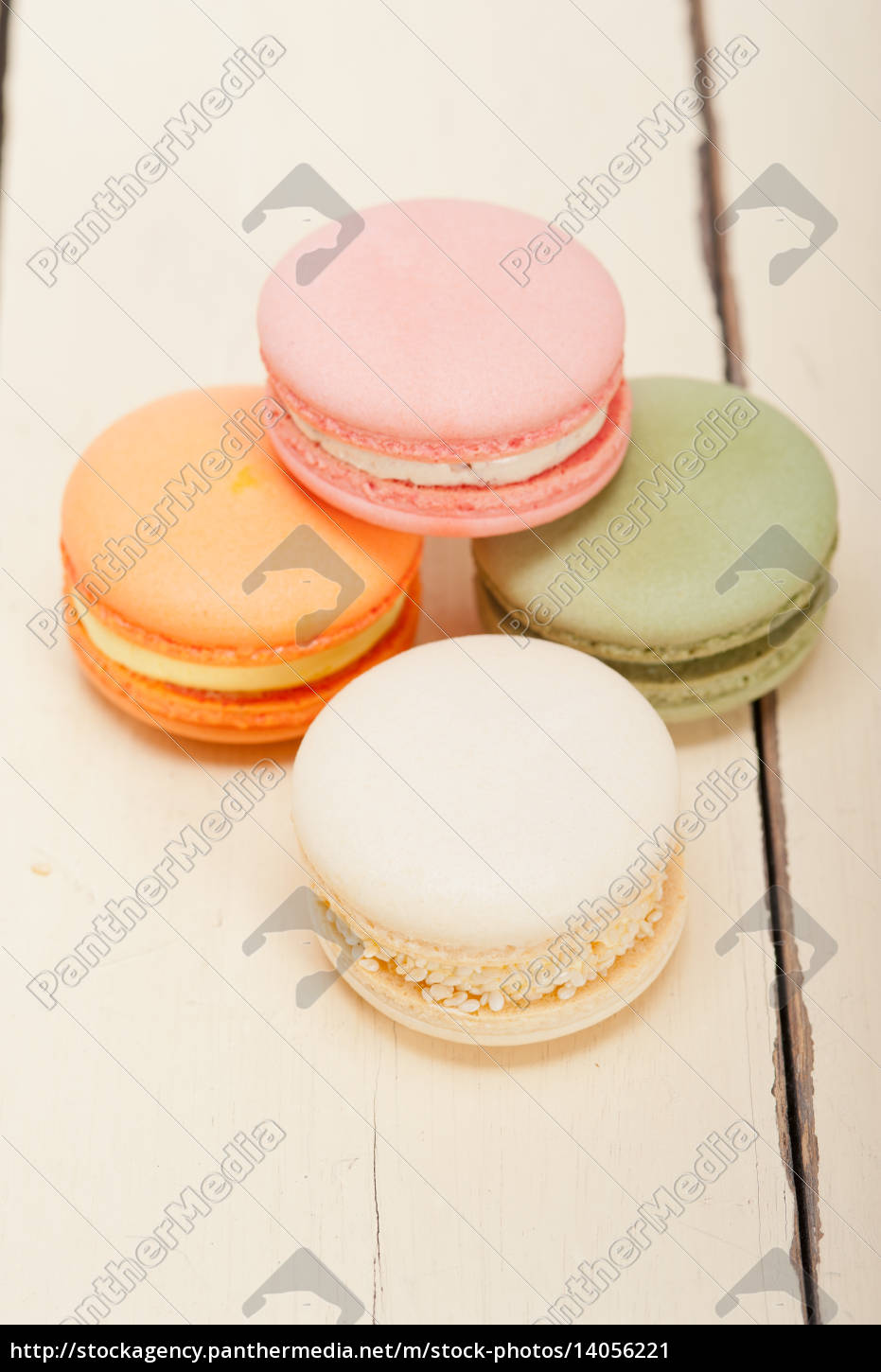 colorful, french, macaroons - 14056221