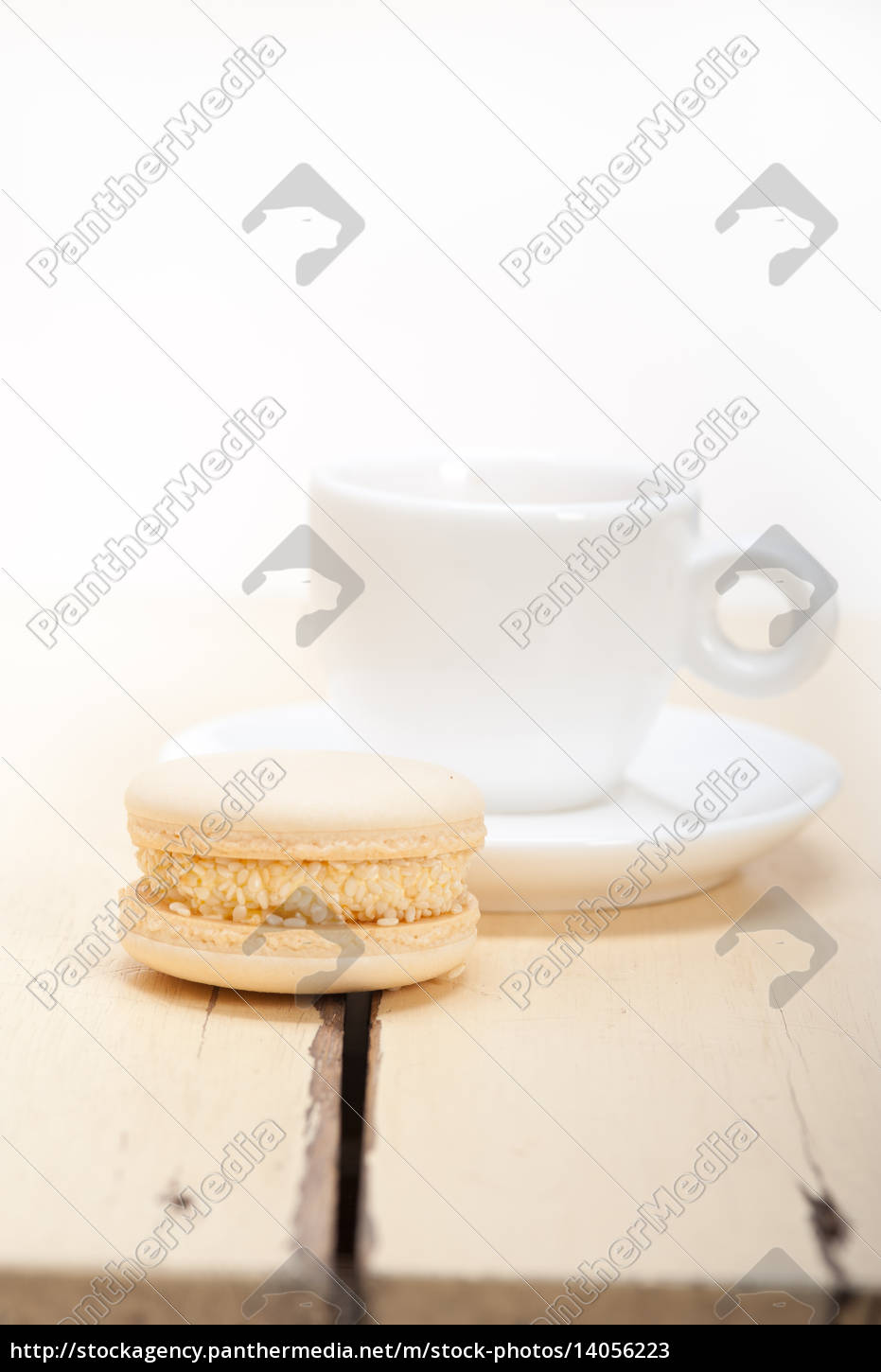 colorful, macaroons, with, espresso, coffee - 14056223