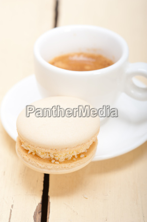 colorful, macaroons, with, espresso, coffee - 14056235