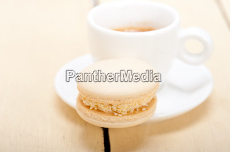 colorful, macaroons, with, espresso, coffee - 14056237
