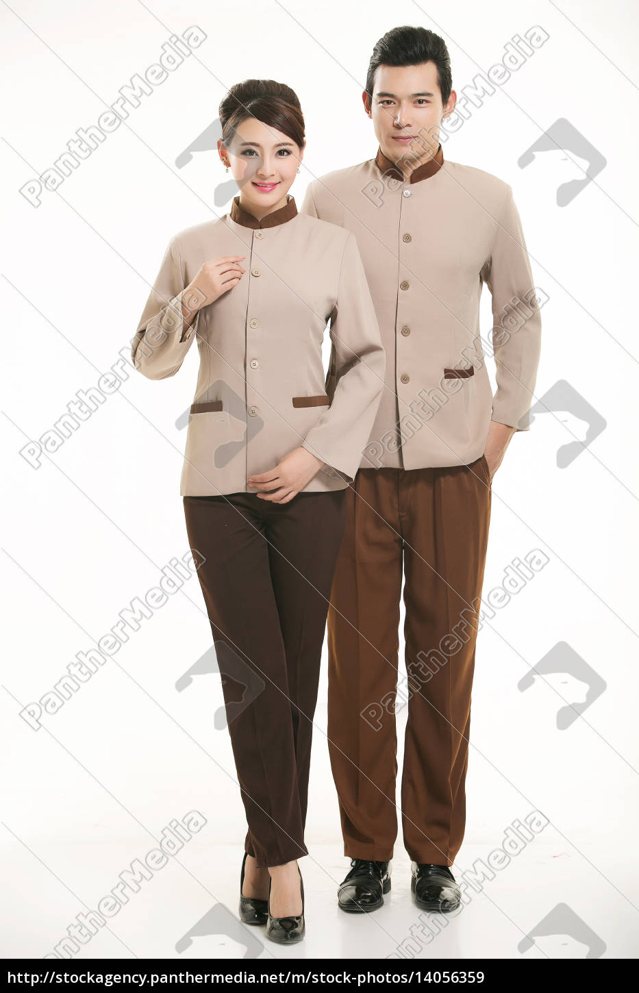 wear, clothing, occupation, chinese, waiters, in - 14056359