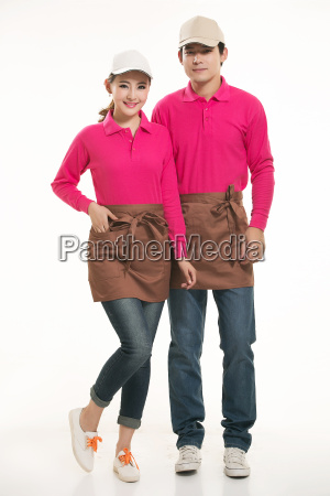 wear, clothing, occupation, chinese, waiters, in - 14056365