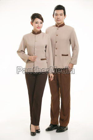 wear, clothing, occupation, chinese, waiters, in - 14056383