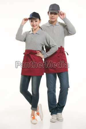 wear, clothing, occupation, chinese, waiters, in - 14056395