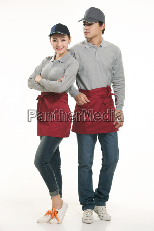 wear, clothing, occupation, chinese, waiters, in - 14056417