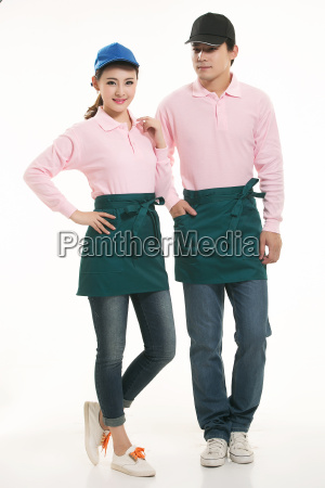 wear, clothing, occupation, chinese, waiters, in - 14056429