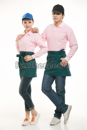 wear, clothing, occupation, chinese, waiters, in - 14056433