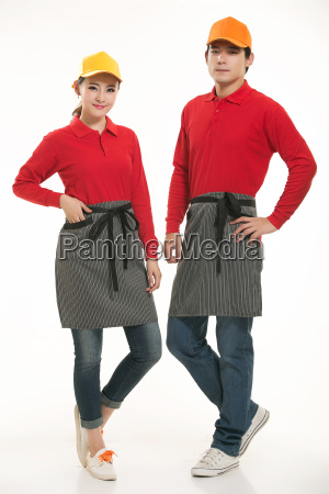 wear, clothing, occupation, chinese, waiters, in - 14056447