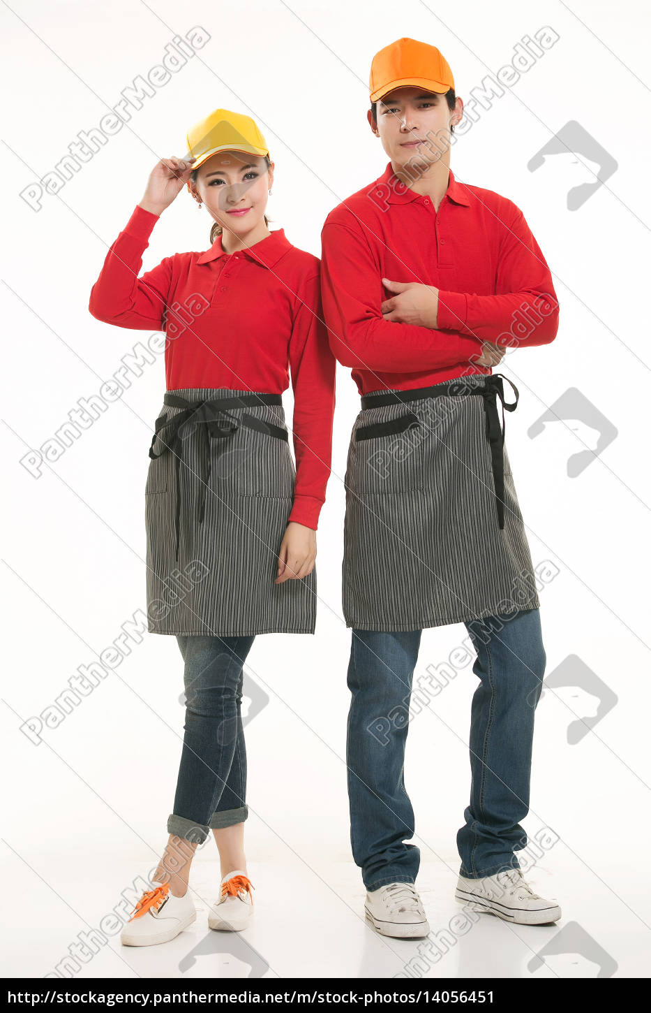 wear, clothing, occupation, chinese, waiters, in - 14056451
