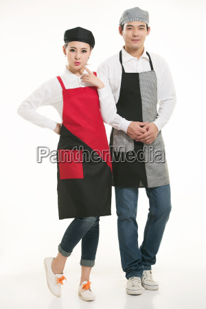 wear, clothing, occupation, chinese, waiters, in - 14056477
