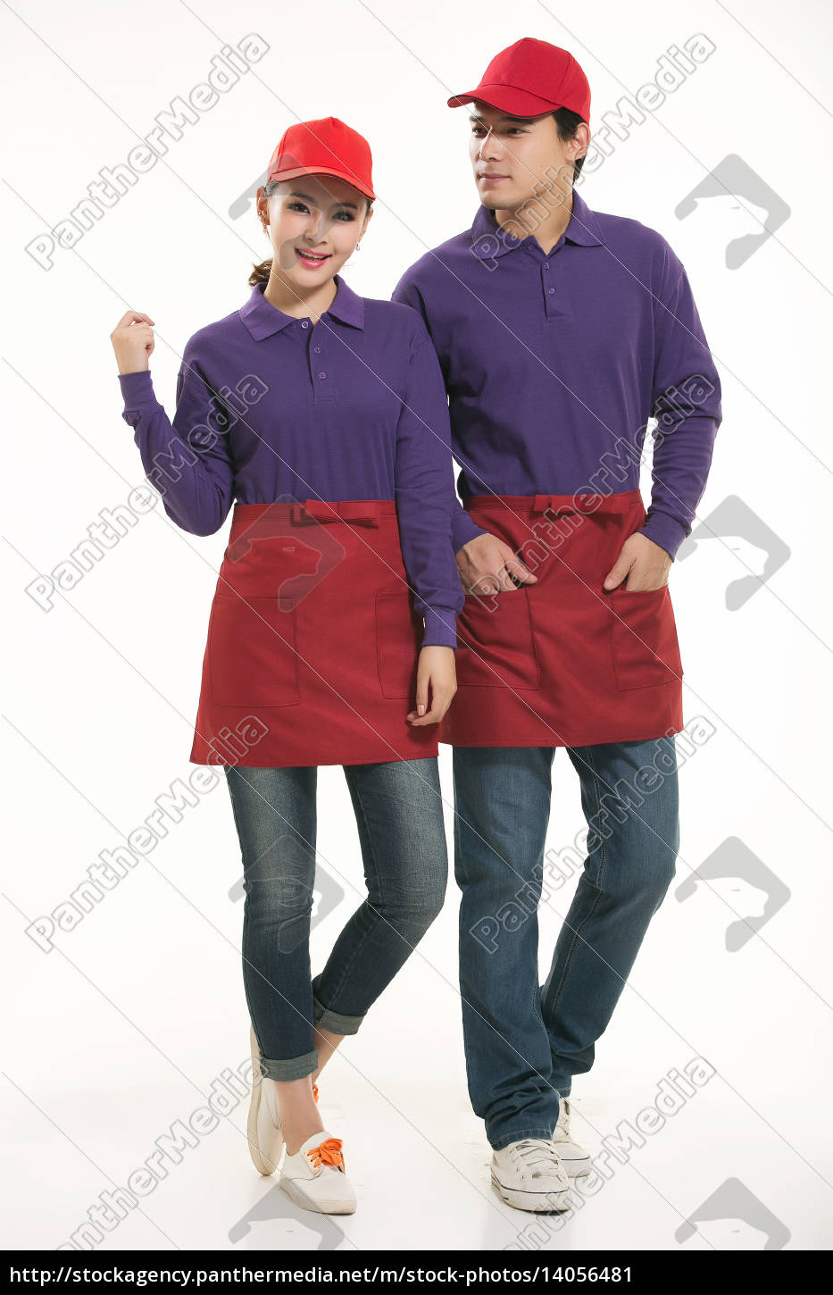 wear, clothing, occupation, chinese, waiters, in - 14056481