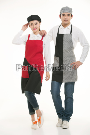 wear, clothing, occupation, chinese, waiters, in - 14056497