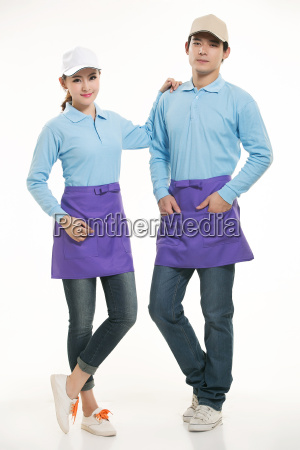 wear, clothing, occupation, chinese, waiters, in - 14056519