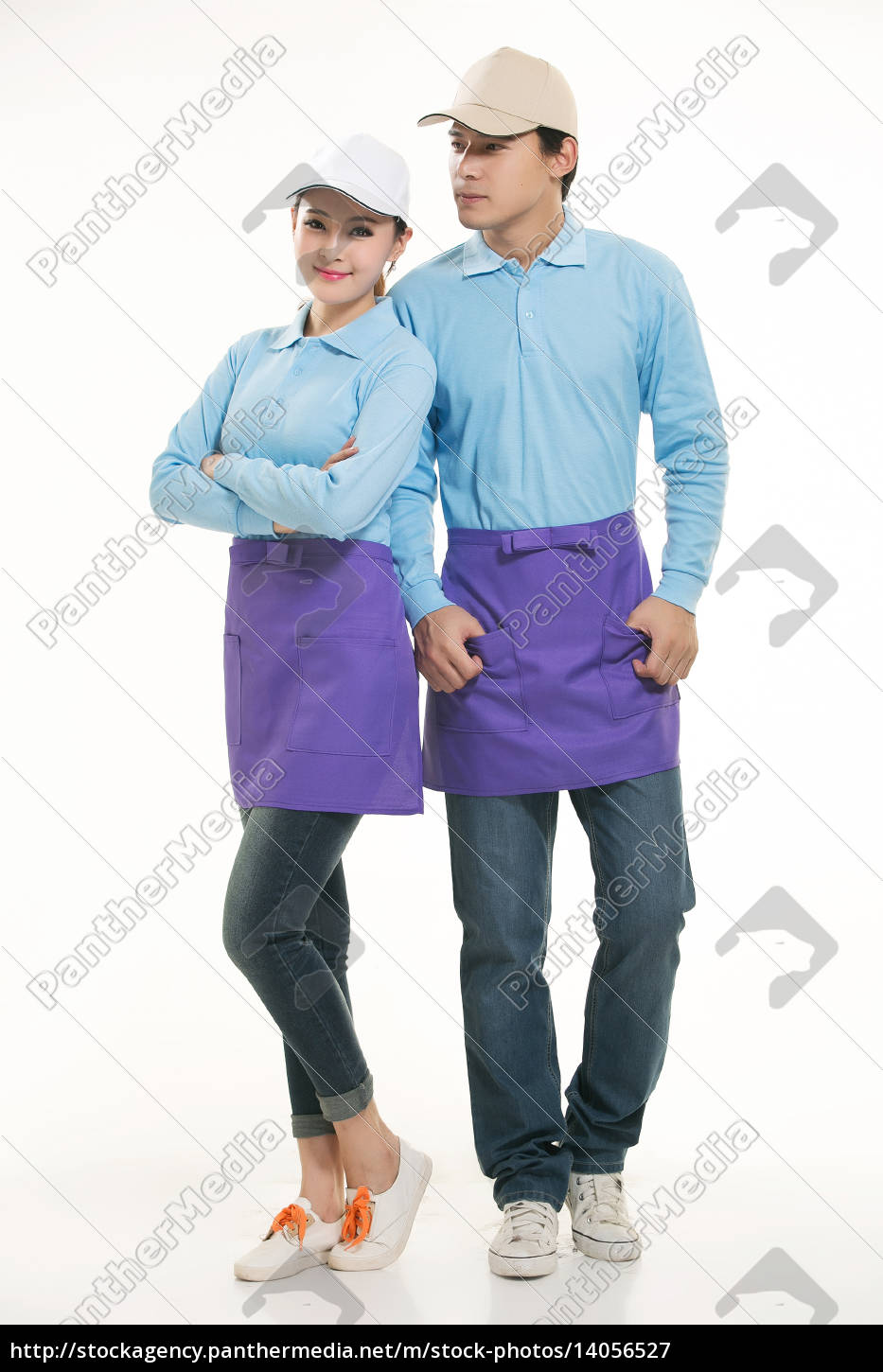 wear, clothing, occupation, chinese, waiters, in - 14056527