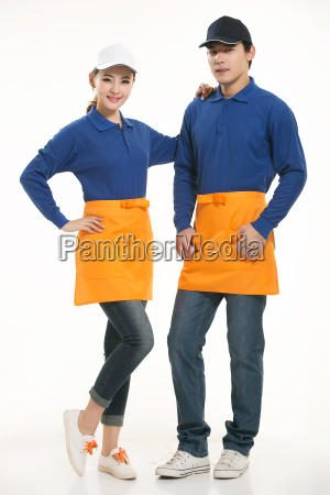 wear, clothing, occupation, chinese, waiters, in - 14056547