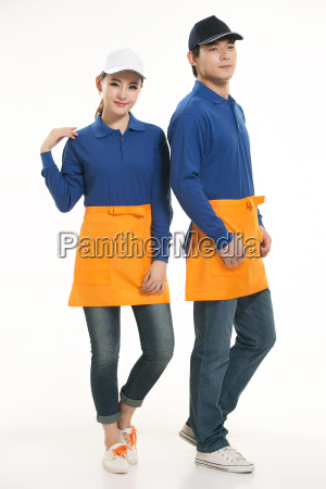 wear, clothing, occupation, chinese, waiters, in - 14056557