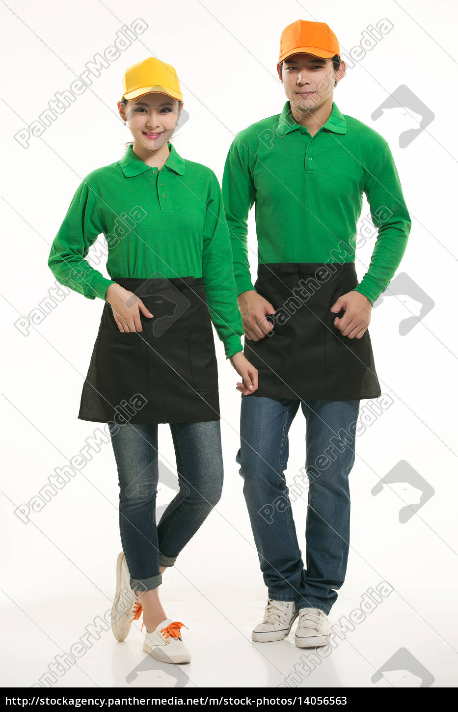 wear, clothing, occupation, chinese, waiters, in - 14056563