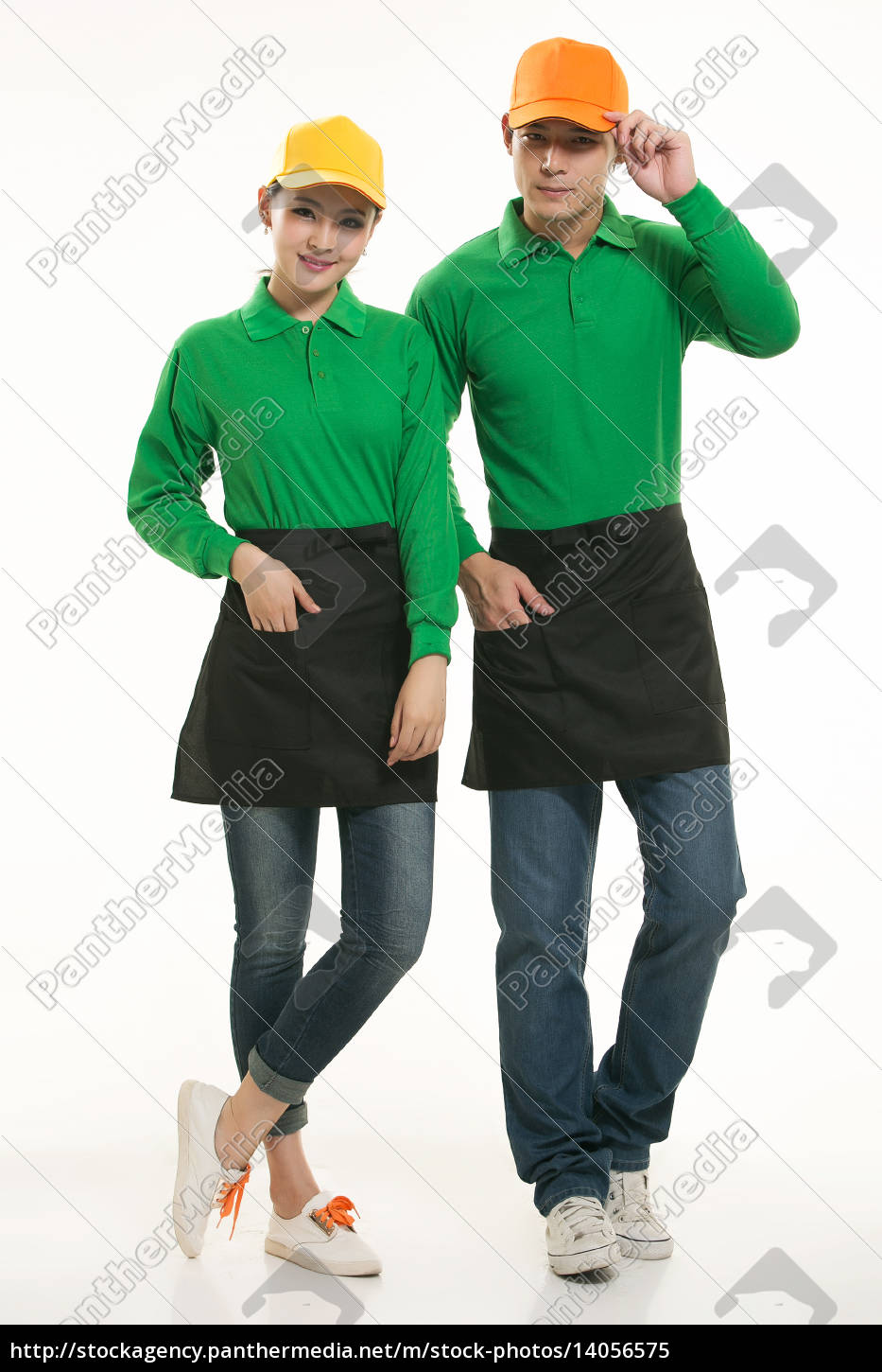 wear, clothing, occupation, chinese, waiters, in - 14056575