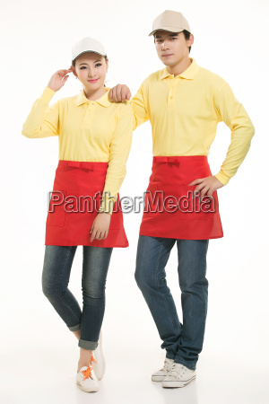 wear, clothing, occupation, chinese, waiters, in - 14056589