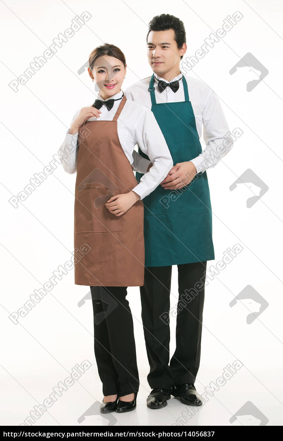 wear, clothing, occupation, chinese, waiters, in - 14056837
