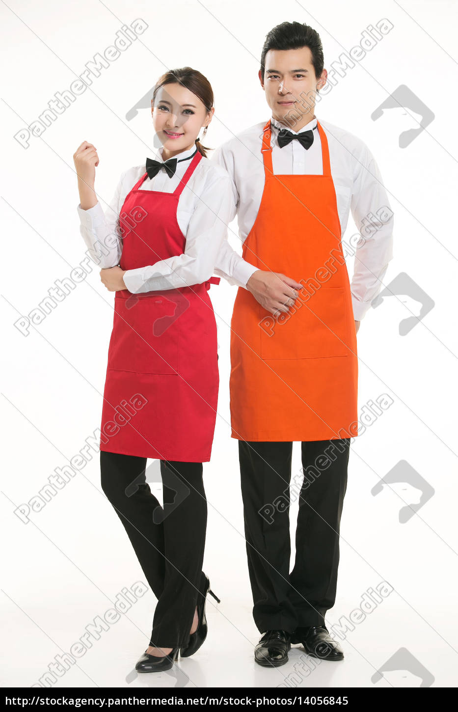 wear, clothing, occupation, chinese, waiters, in - 14056845