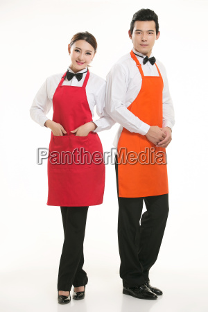 wear, clothing, occupation, chinese, waiters, in - 14056859