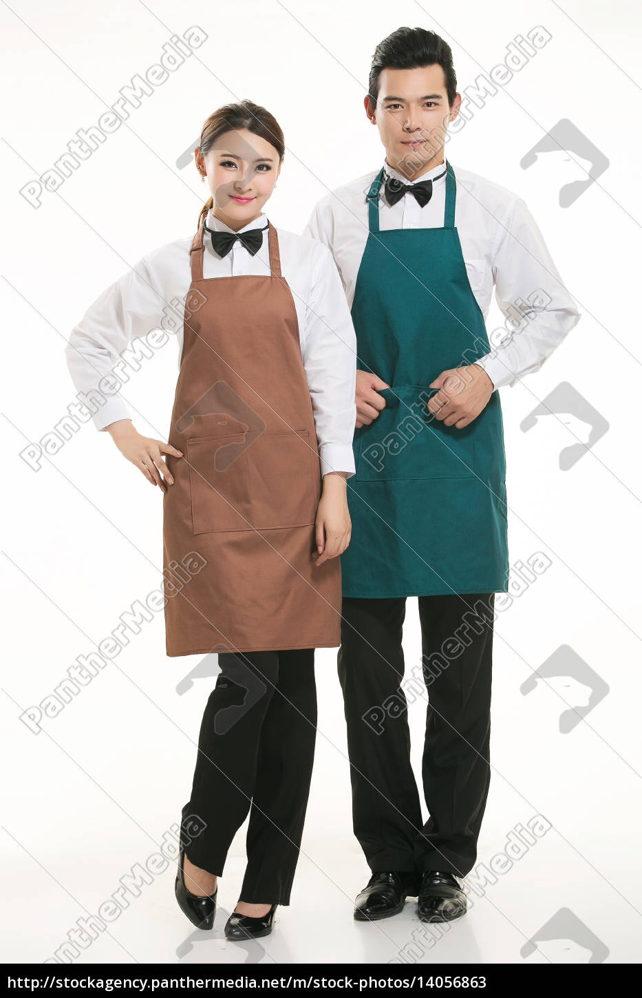 wear, clothing, occupation, chinese, waiters, in - 14056863