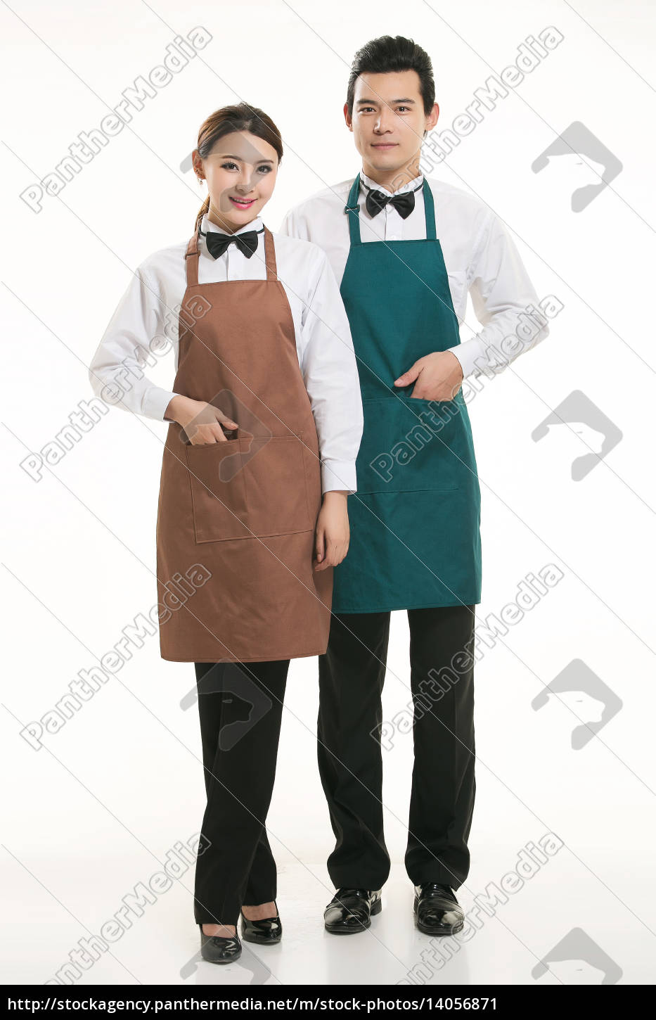 wear, clothing, occupation, chinese, waiters, in - 14056871