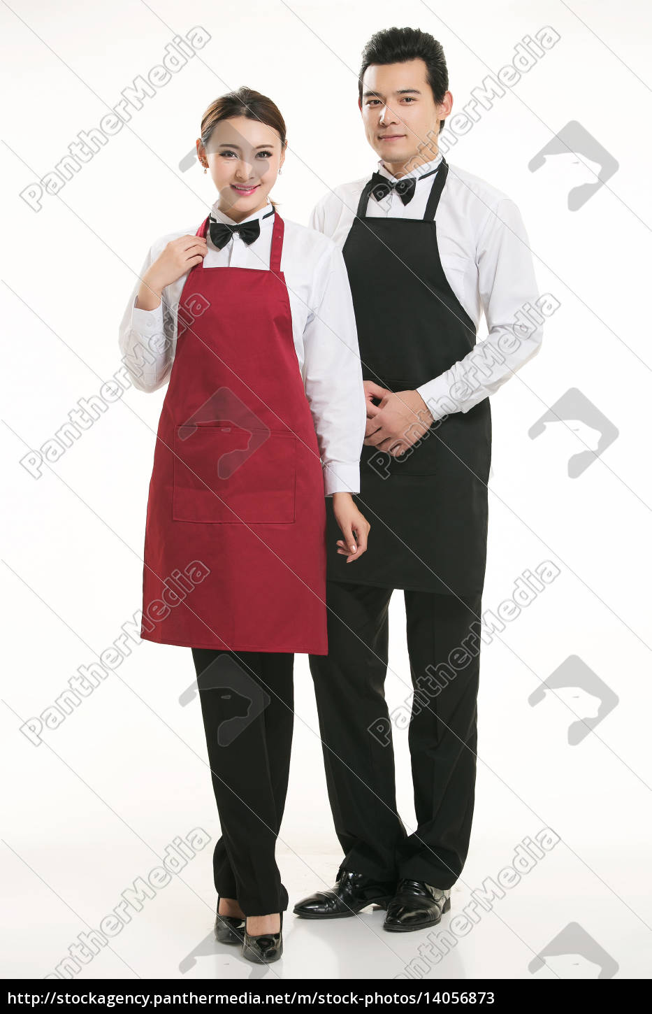wear, clothing, occupation, chinese, waiters, in - 14056873