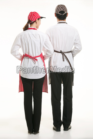 wear, clothing, occupation, chinese, waiters, in - 14056909