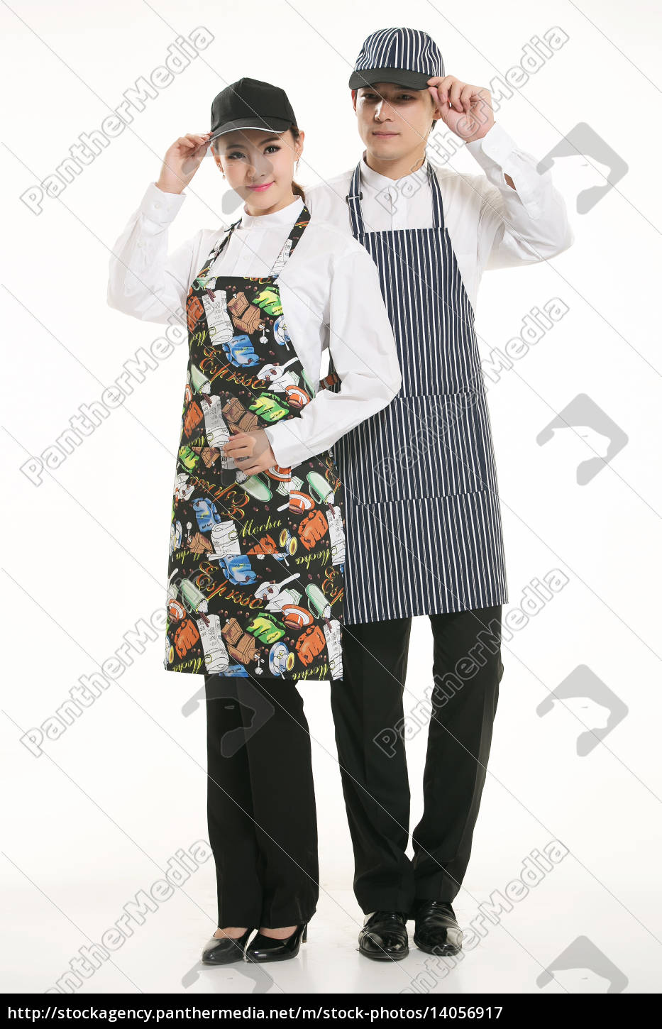 wear, clothing, occupation, chinese, waiters, in - 14056917