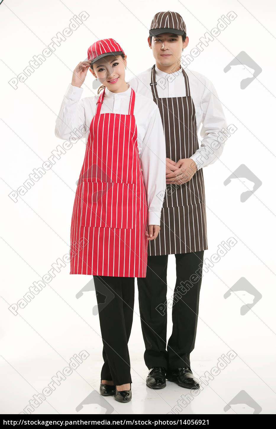 wear, clothing, occupation, chinese, waiters, in - 14056921