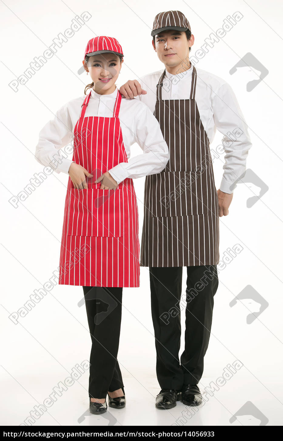 wear, clothing, occupation, chinese, waiters, in - 14056933