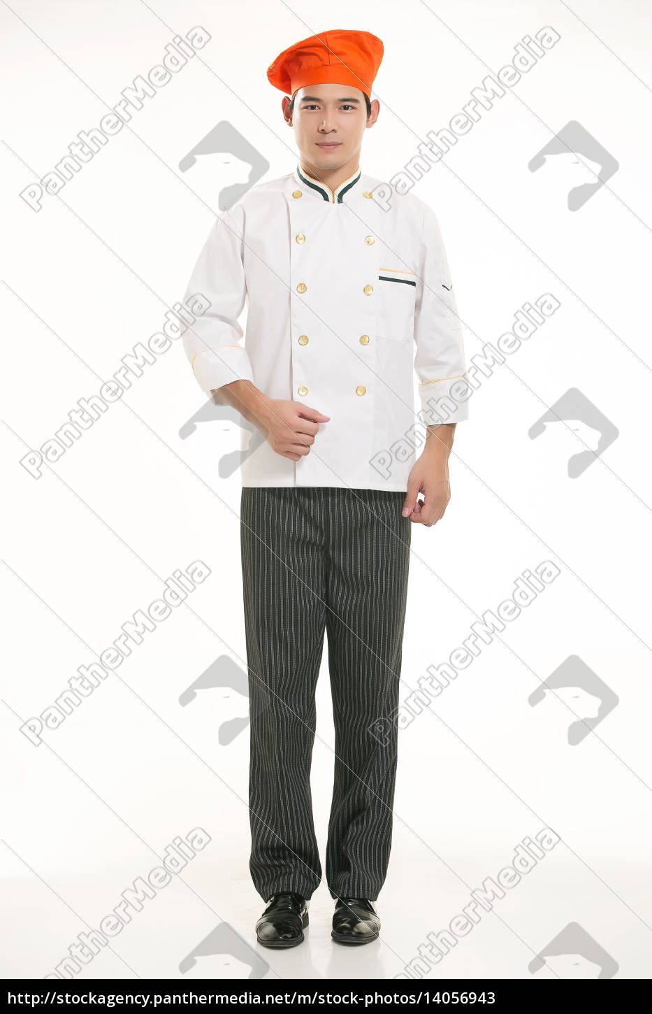 wearing, all, kinds, of, clothing, chef - 14056943
