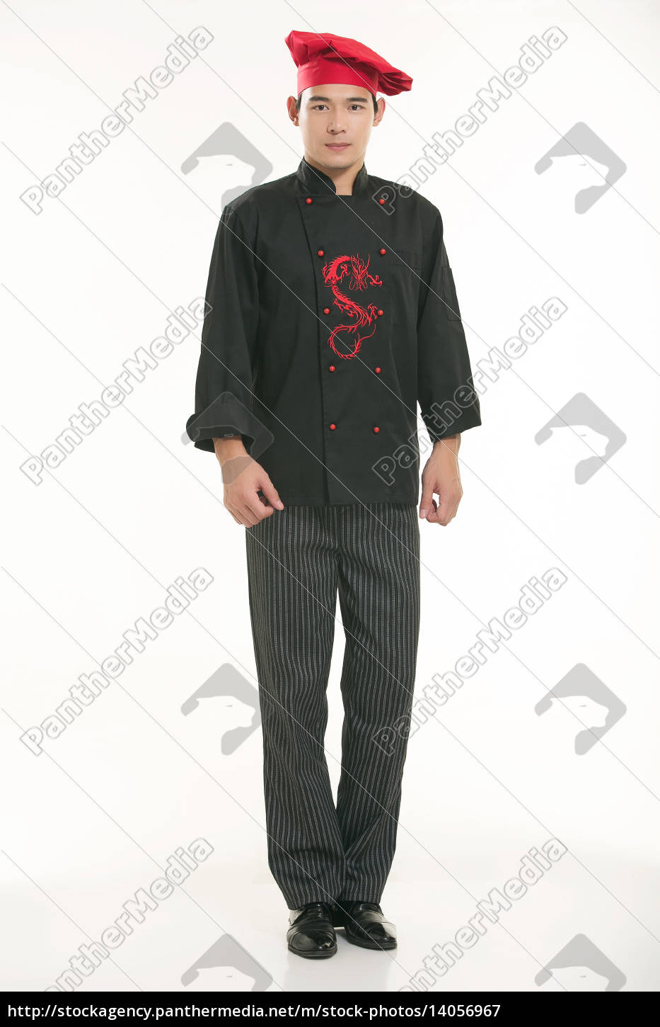 wearing, all, kinds, of, clothing, chef - 14056967