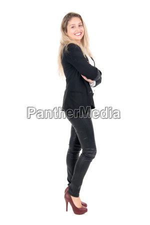 young, businesswoman - 14057451