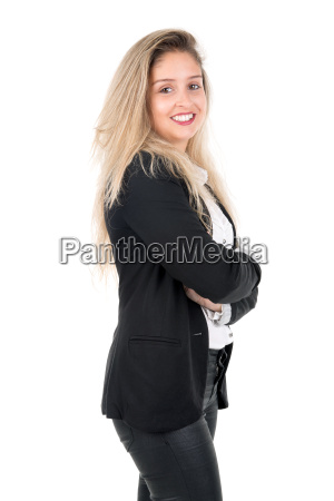 young, businesswoman - 14057455