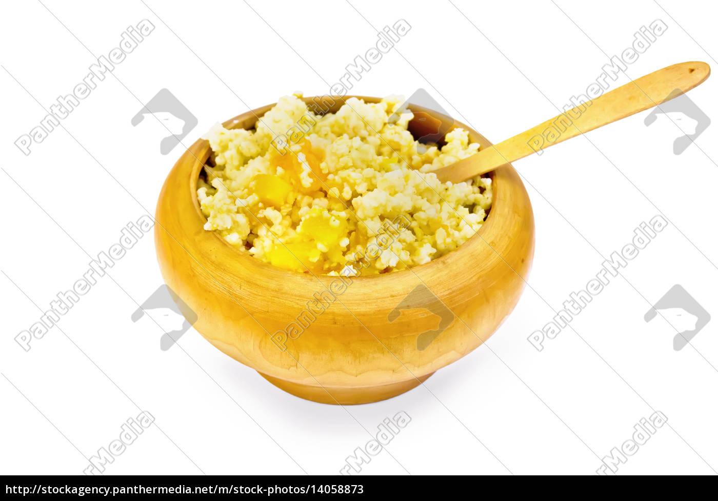 porridge, millet, with, pumpkin, in, a - 14058873