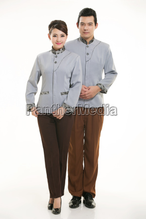 wear, clothing, occupation, chinese, waiters, in - 14058291