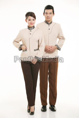 wear, clothing, occupation, chinese, waiters, in - 14058293