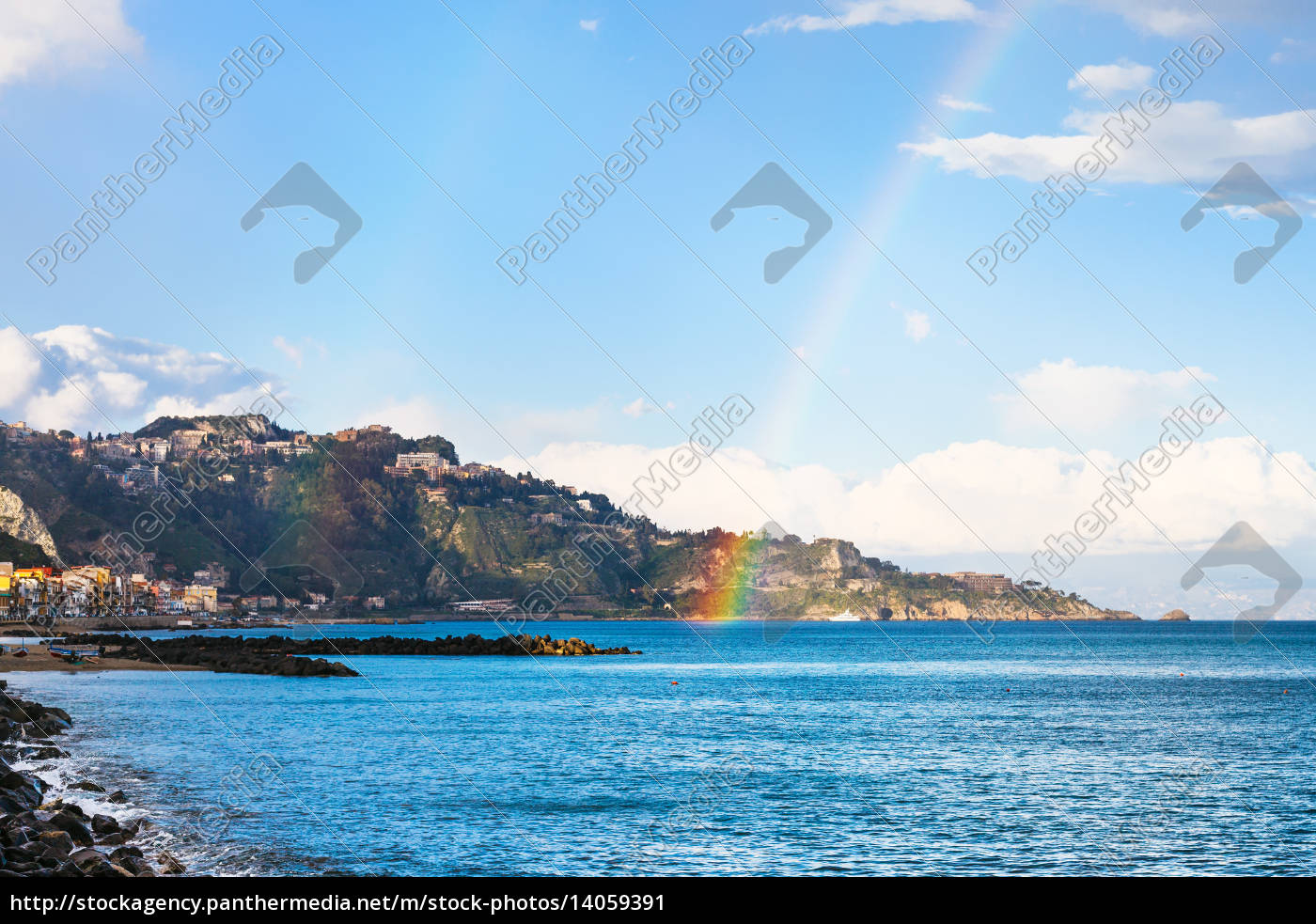 giardini, naxos, resort, and, rainbow, in - 14059391