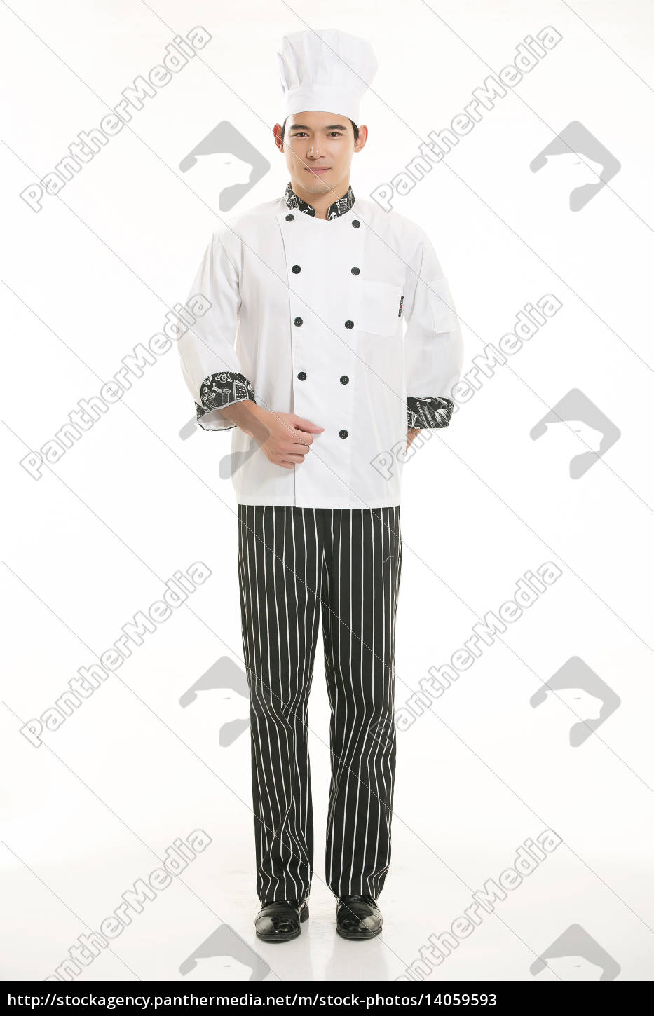 wearing, all, kinds, of, clothing, chef - 14059593