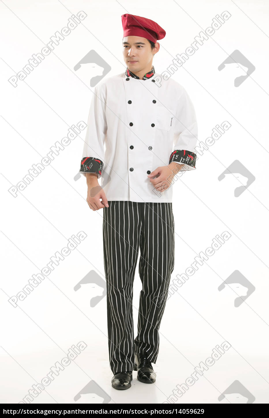 wearing, all, kinds, of, clothing, chef - 14059629