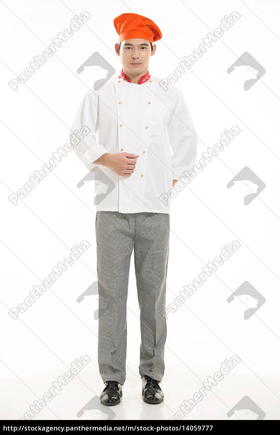 wearing, all, kinds, of, clothing, chef - 14059777