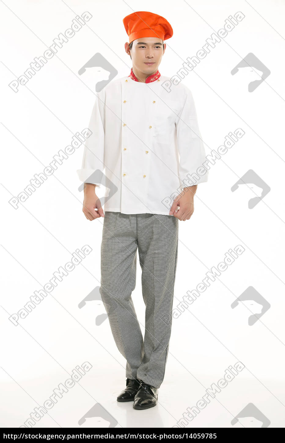 wearing, all, kinds, of, clothing, chef - 14059785