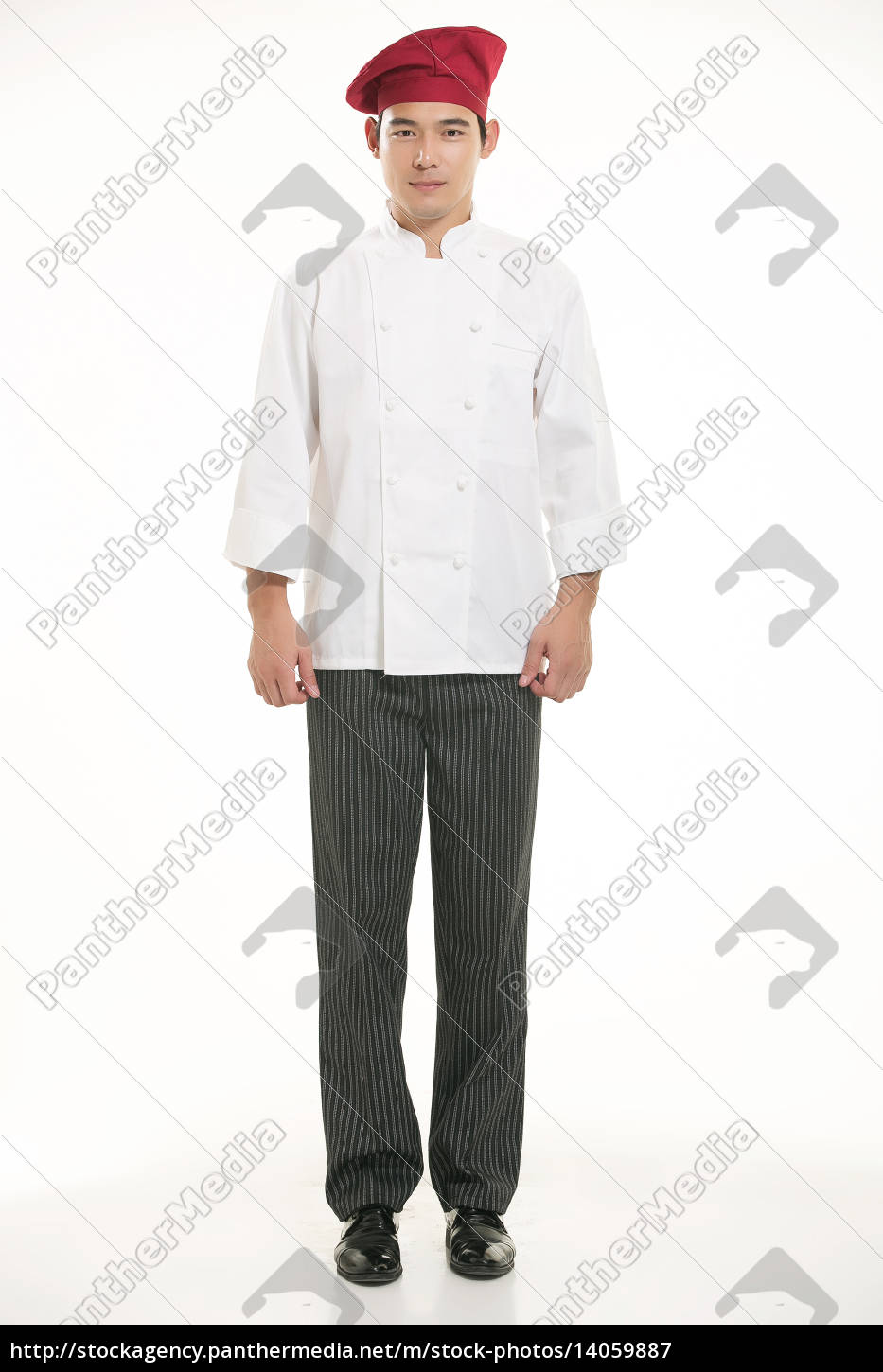 wearing, all, kinds, of, clothing, chef - 14059887