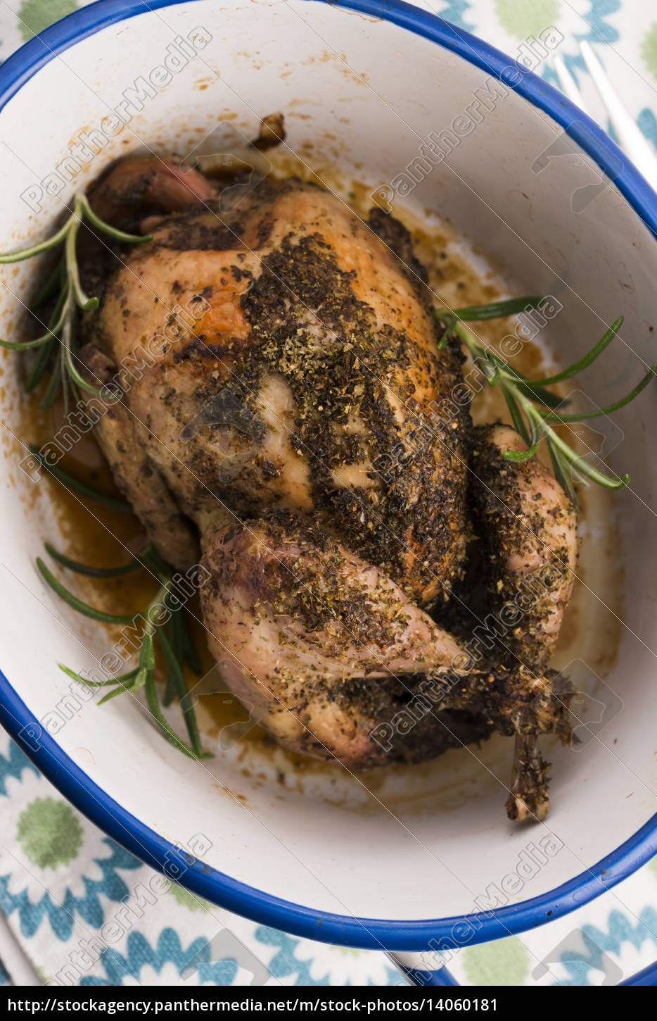 roasted, quail, with, herbs - 14060181