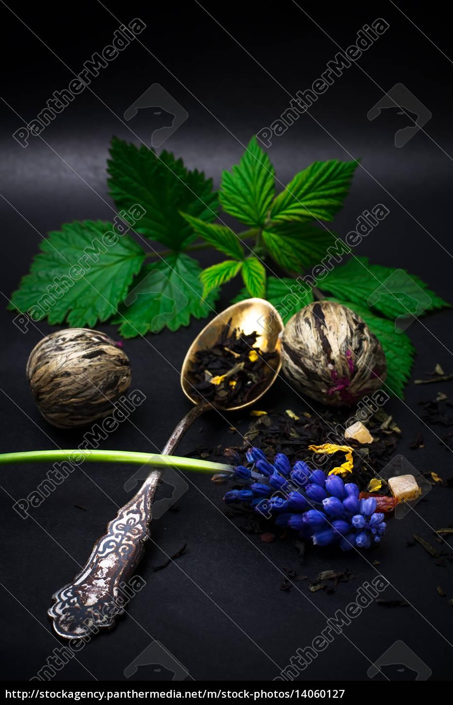 tea, leaf, drink, drinking, bibs, dry - 14060127