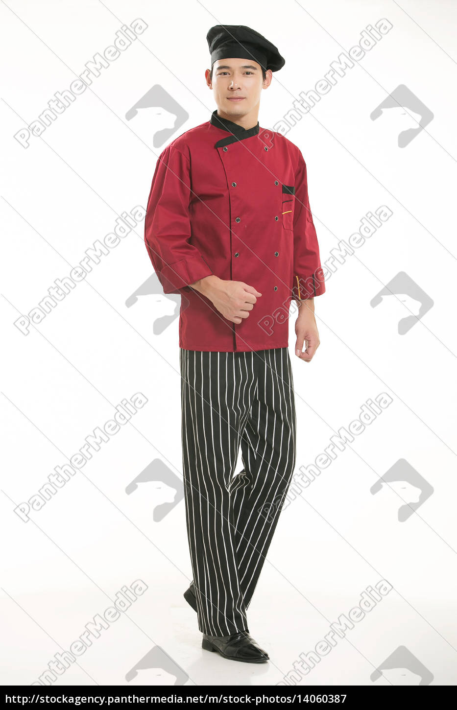 wearing, all, kinds, of, clothing, chef - 14060387